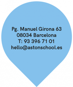 Academia de inglés en Barcelona. Marcador