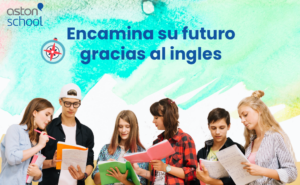 Academia de inglés online. Banner jóvenes
